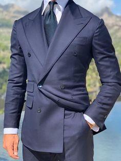 Slim Fit Navy Wedding Tuxedos For Groom Wear Groomsmen Best Man Suit Men's Suits Bridegroom (Jacket+Pants) Prom Party Guest Custom Groom Tuxedo Wedding, Wedding Suits, Wedding Tuxedos, Casual Wedding, Wedding Dress, Mens Tuxedo Suits, Tuxedo For Men, Tuxedo Man, Suit Men