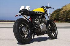 Vuelven a nuestra web Cafe Racer Sspirit, esta vez para traernos una cafe racer a partir de una Yamaha Virago XV750. Datos técnicos de Yamaha Virago XV750