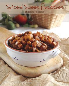 Spiced Sweet Potatoes | Taking On Magazines | www.takingonmagazines.com