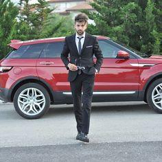 Range Rover Evoque. Men's style