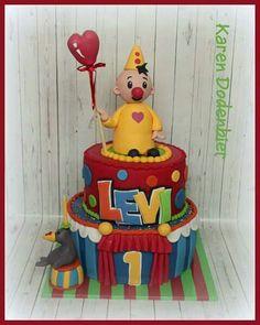Bumba the clown cake!