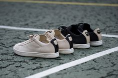 PUMA's revival of the '80s classic Court Star tennis shoe continues with this latest treatment for t...