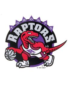 Rico Industries Toronto Raptors Static Cling Decal