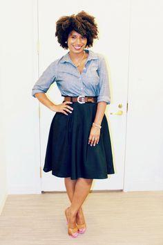 33 Beautiful Summer Navy Blue Skirt