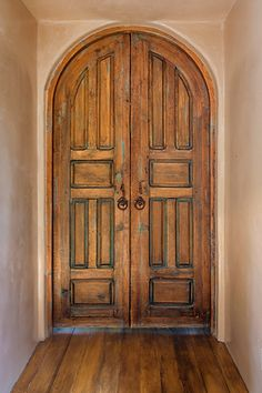 Amazing Arched Interior Door By La Puerta Originals Composed Of Two Classic  Six Panel Antique Mexican