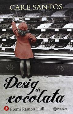 """Desig de xocolata / Care santos: """"La novel·la, guanyadora del Premi Ramon Llull 2014, narra la història de tres dones unides en el temps per la seva passió per la xocolata i que tenen con a vincle comú una xocolatera de porcellana blanca ..."""""""