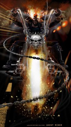 My interpretation of the comic character GHOST RIDER © Marvel Comics. Comic Book Characters, Marvel Characters, Comic Character, Comic Books Art, Comic Art, Marvel Comics Art, Marvel Heroes, Anime Comics, Captain Marvel