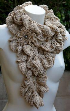sciarpa uncinetto / crochet scarf / cachecol croche