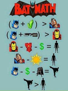 #Batman wins. Every time. All the time.