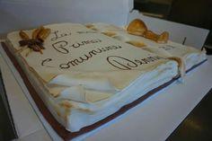 Vangelo torta Prima Comunione