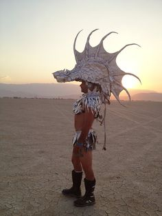 An Exclusive First Look At The Other-Worldly Art Of Burning Man 2014