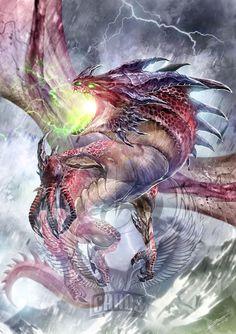 Sarkhan Dragon by Dragolisco on DeviantArt