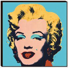 eu.Fab.com   Warhol Marilyn 1967 Print Blue