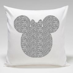 Pillow case, baby pillow case, childrens pillow case, glam pillow case, silver print, gold print, nursery decor, babys room by minikibabyandkids. Explore more products on http://minikibabyandkids.etsy.com