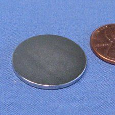 """N45 Neodymium Magnet Dia 7/8"""" X 1/16"""" NdFeB Rare Earth Disc Magnet 6-Count by CMS Magnetics. $7.32. Rare earth magnetic material, also NdFeB magnets or neodymium magnets   Material: NdFeB magnets, grade N45    Gauss Rating: 13,800 gauss Pulling Power: 5.36 lbs.    Magnetized Direction: poles are on the flat surfaces    Applications: Holding, crafting and science projects."""