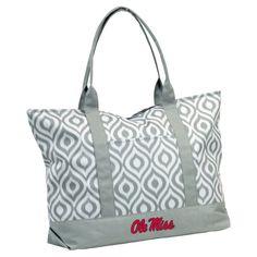 Logo Chair NCAA Ikat Tote Bag, Women's -