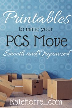 Printables to Make Your PCS Move Smooth and Organized , Printables for a PCS Binder and other tips for a smooth military move. Oconus Pcs, Moving Binder, Pcs Binder, Packing To Move, Packing Tips, Moving Overseas, Military Wife, Military Families, Airforce Wife