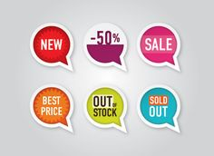 """""""Sale Balloons"""", vector graphic by DryIcons.com Comes with Free, Commercial and Extended License."""