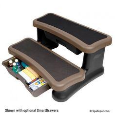 "SmartStep Spa Storage Steps 36"" PRICE: $99.95"