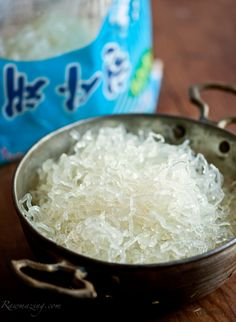 At only 20 calories a serving, kelp noodles are a low calorie, raw substitute for pasta. Kelp noodles are made from kelp (a brown seaweed), sodium alginate (a salt derived from seaweed), and water. Kelp is an edible seaweed that is high in nutrients. High in iodine, kelp also contains over 70 minerals, trace elements, enzymes, potassium, magnesium, calcium, iron and 21 amino acids.