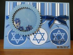 Shaker Hanukkah Card by carleneanne - Cards and Paper Crafts at Splitcoaststampers