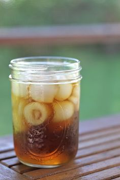 Sweet tea made so darn simple!   You don't know southern style living if you haven't sipped on real honest to goodness sweet tea out of a mason jar while swinging on a porch swing and/or while rocking in a rocking chair in the sunshine.  Hmmm... Memories. :-)