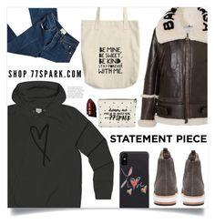 """Go Bold: Statement Coats(2)"" by samra-bv ❤ liked on Polyvore featuring Balenciaga, Matt Bernson, 3.1 Phillip Lim and Anastasia Beverly Hills"