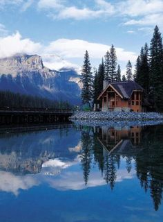 Cabin On the Lake. | Most Beautiful Pages