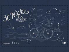 30 Nights of Biking