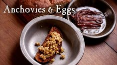 Anchovies And Eggs?? - YouTube Anchovy Recipes, Breakfast Recipes, French Toast, The Cure, Oatmeal, Eggs, Make It Yourself, Cooking, Youtube