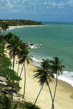 Praia de Coqueirinhos -João Pessoa - Paraiba - Brasil