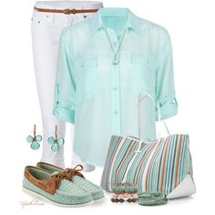 15 Mint Polyvore Combinations For Spring - Fashion Diva Design