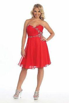 New Short Homecoming Chiffon Prom Bridesmaid Wedding Cocktail Semi Formal Dress | eBay