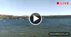 Veduta di Rose Bay nell'Eastern Suburb a Sydney