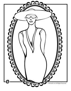 Free Printable Kentucky Derby Coloring Pages Of Horse Racing Jumping Trophies And Fancy Hats Too