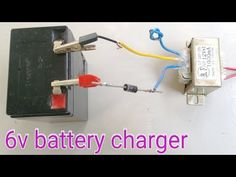Hi friends in this video I'm going to show you How To Make a Battery Charger at home. Transforme diode battery Please see our popular v. Arduino Wireless, Battery Charger Circuit, Battery Hacks, Make A Mobile, Batterie Lithium, Outdoor Toys For Kids, Hobby Electronics, Energy Projects, Aquaponics System