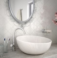 Create Unique Arabesque Style with Fantastic Lantern Shaped Tiles. Moroccan inspired wall tiles with this fabulous collection of Arabesque Style Tiles Dublin Bathroom Floor Tiles, Kitchen Tiles, Bathroom Wall, Lantern Tile, Decorative Wall Tiles, White Lanterns, Lantern Designs, Moroccan Lanterns, Bathrooms