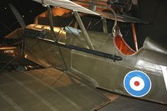 The Royal Aircraft Factory S.E.5 was a British biplane fighter aircraft of the First World War