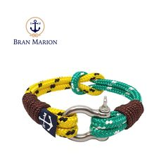 Bran Marion bracelets are the perfect casual accessory for the outdoorsy sporty types. Especially the water enthusiasts. Reef Knot, Marine Rope, Nautical Bracelet, Anklet, Sailor, Sporty, Bracelets, Gifts, Accessories