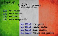 Italian lesson - c'è / ci sono #italianlessons
