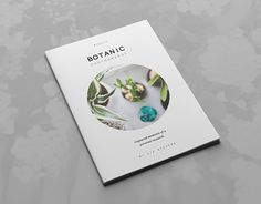"Check out this @Behance project: ""Botanic Portfolio Template""…"