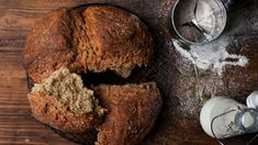 Clodagh McKenna's lockdown soda bread   This Morning Bread Recipes, Cooking Recipes, Chef Recipes, Vegetarian Recipes, Steak And Chips, Traditional Irish Soda Bread, Bakewell Tart, Natural Yogurt, Spinach And Feta