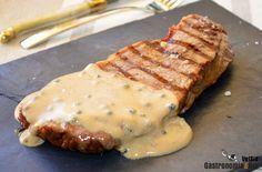 Receta de salsa a la pimienta para carnes
