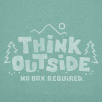 Think outside. No box required. #keen #recess #outdoors