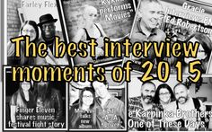 The best interview moments of 2015 - The Gracie Note Musicals, Interview, Notes, The Incredibles, Good Things, Content, In This Moment, Album, Movie Posters