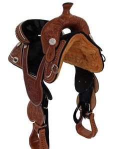 Handmade Premium Treeless Leather Western Saddle Horse Tack Equestrian saddle