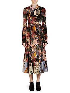 Erdem - Zuzanna Silk Dress