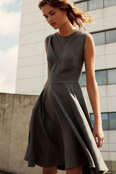 linen dress, river, robert kalininkin