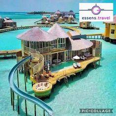 bora bora honeymoon Ferienanlage in Malediven - just luxux Vacation Places, Vacation Destinations, Dream Vacations, Vacation Travel, Dream Vacation Spots, Romantic Vacations, Italy Vacation, Romantic Travel, Vacation Ideas