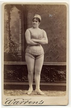 The Early Faces (& Shapes) of Exotic Dancing: 22 Photos of 1890s Burlesque Dancers You go girl!